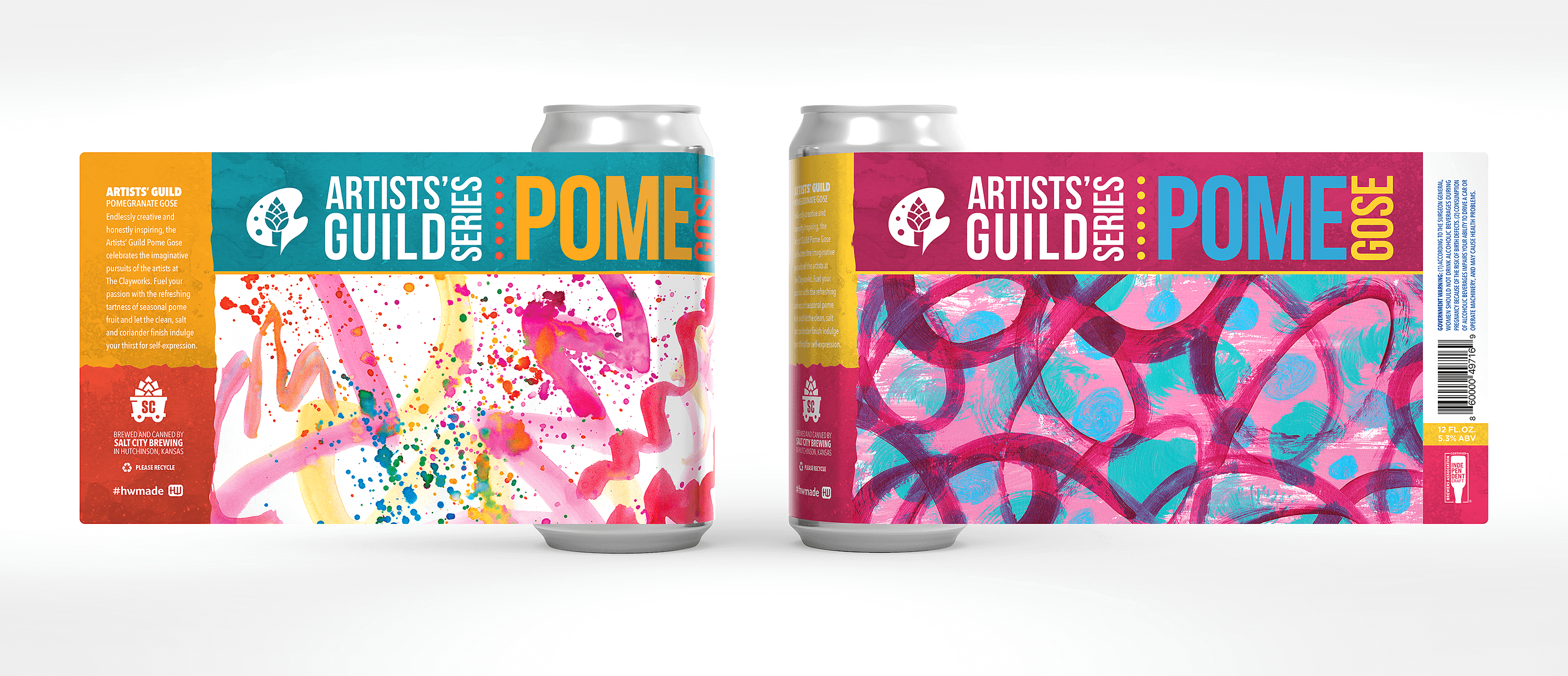 Salt City Brewing Co. Artists' Guild Retail Packaging
