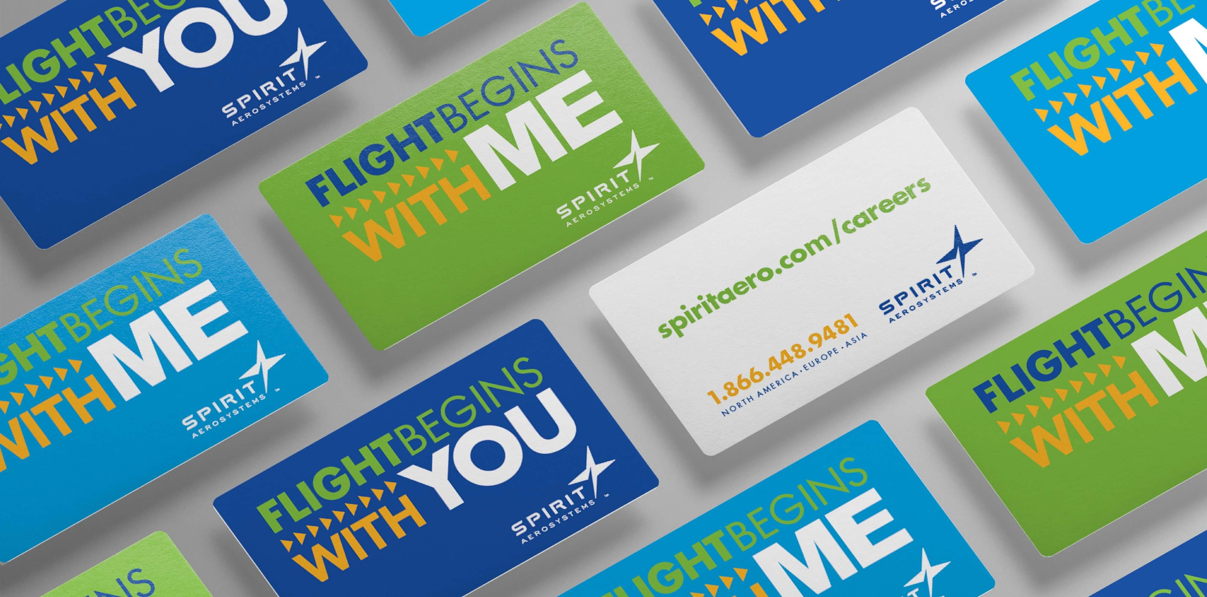 Spirit AeroSystems cards examples