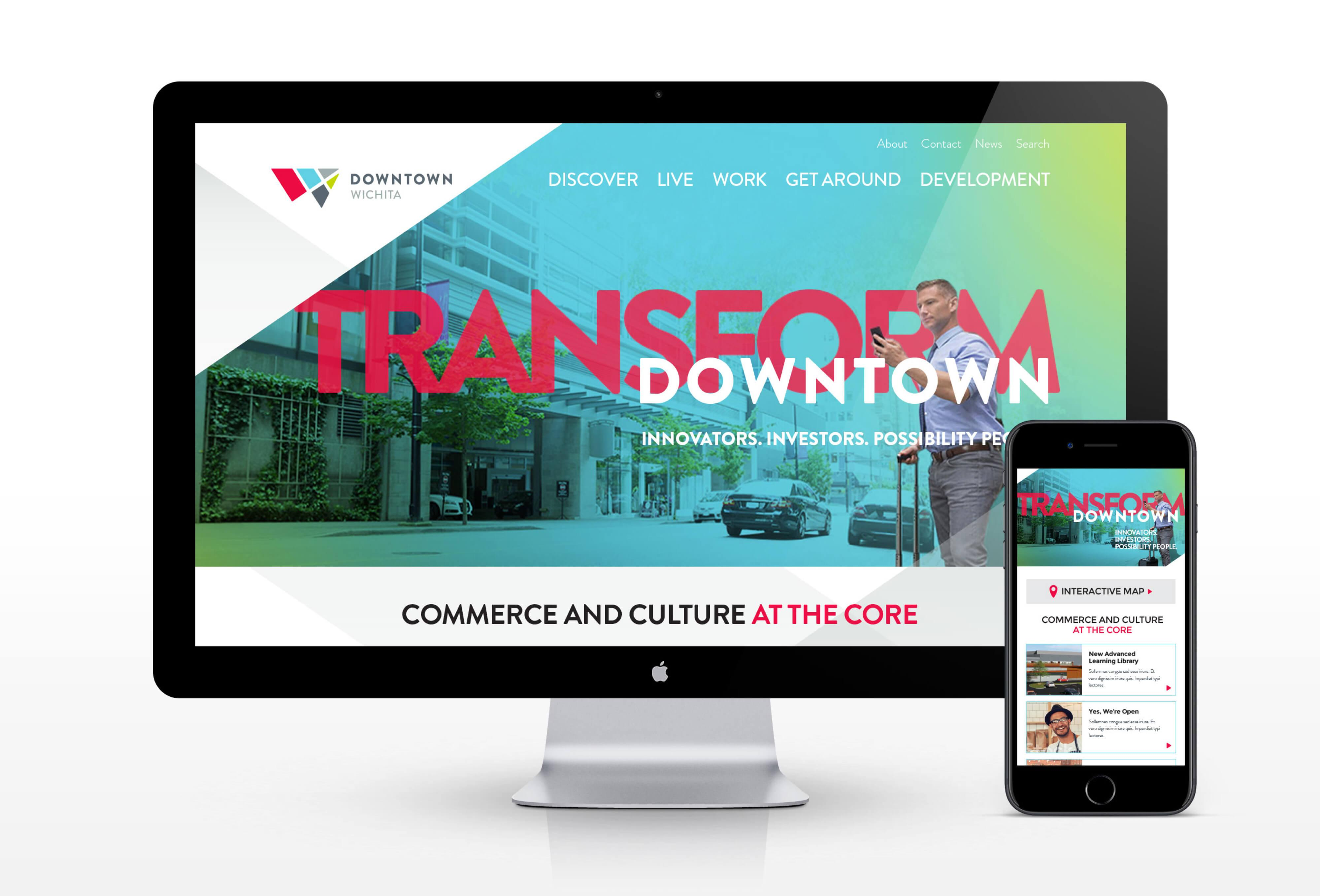 Downtown Wichita Website