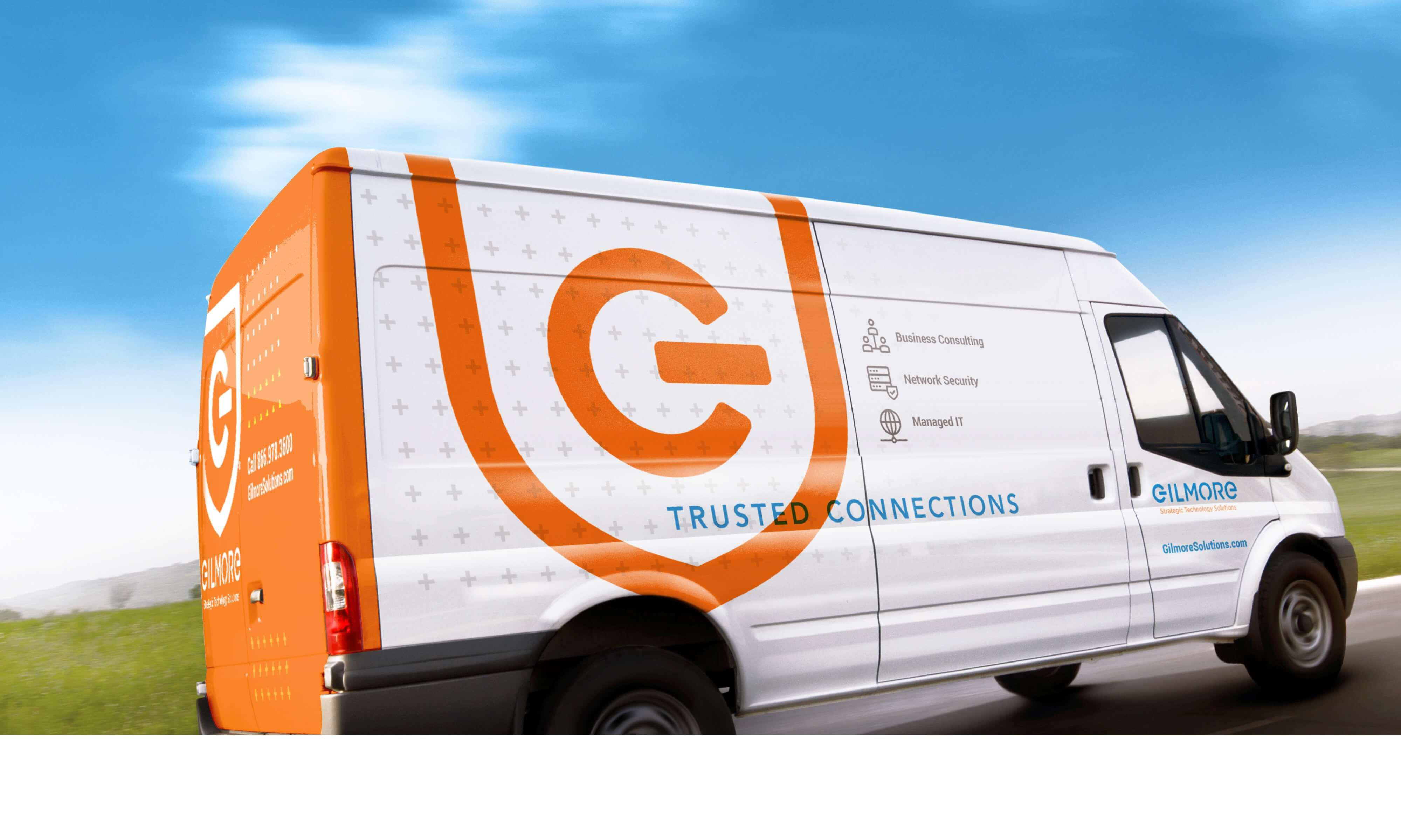 Gilmore Branded Vehicle Livery
