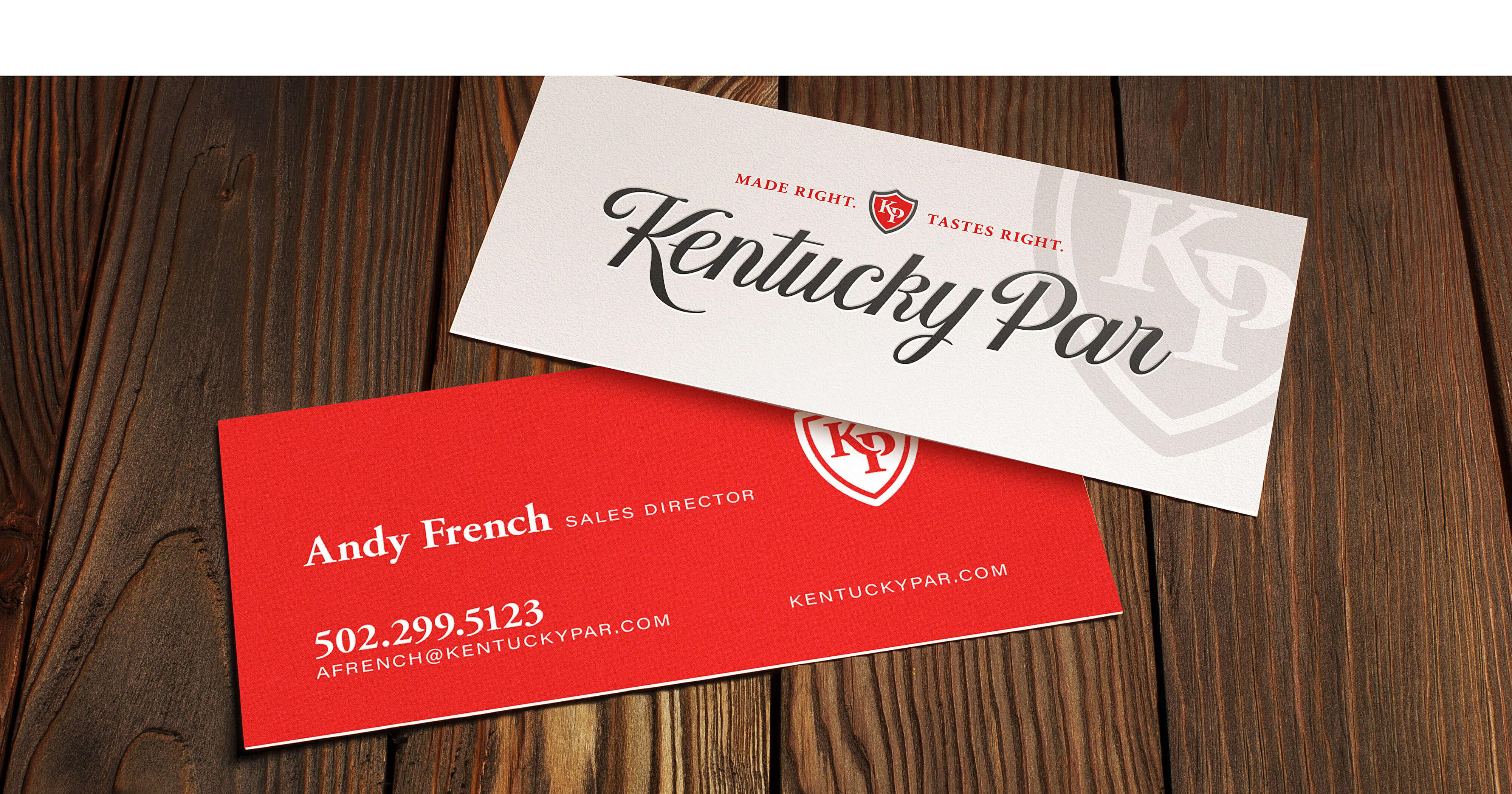 Kentucky Par Bourbon Stationary