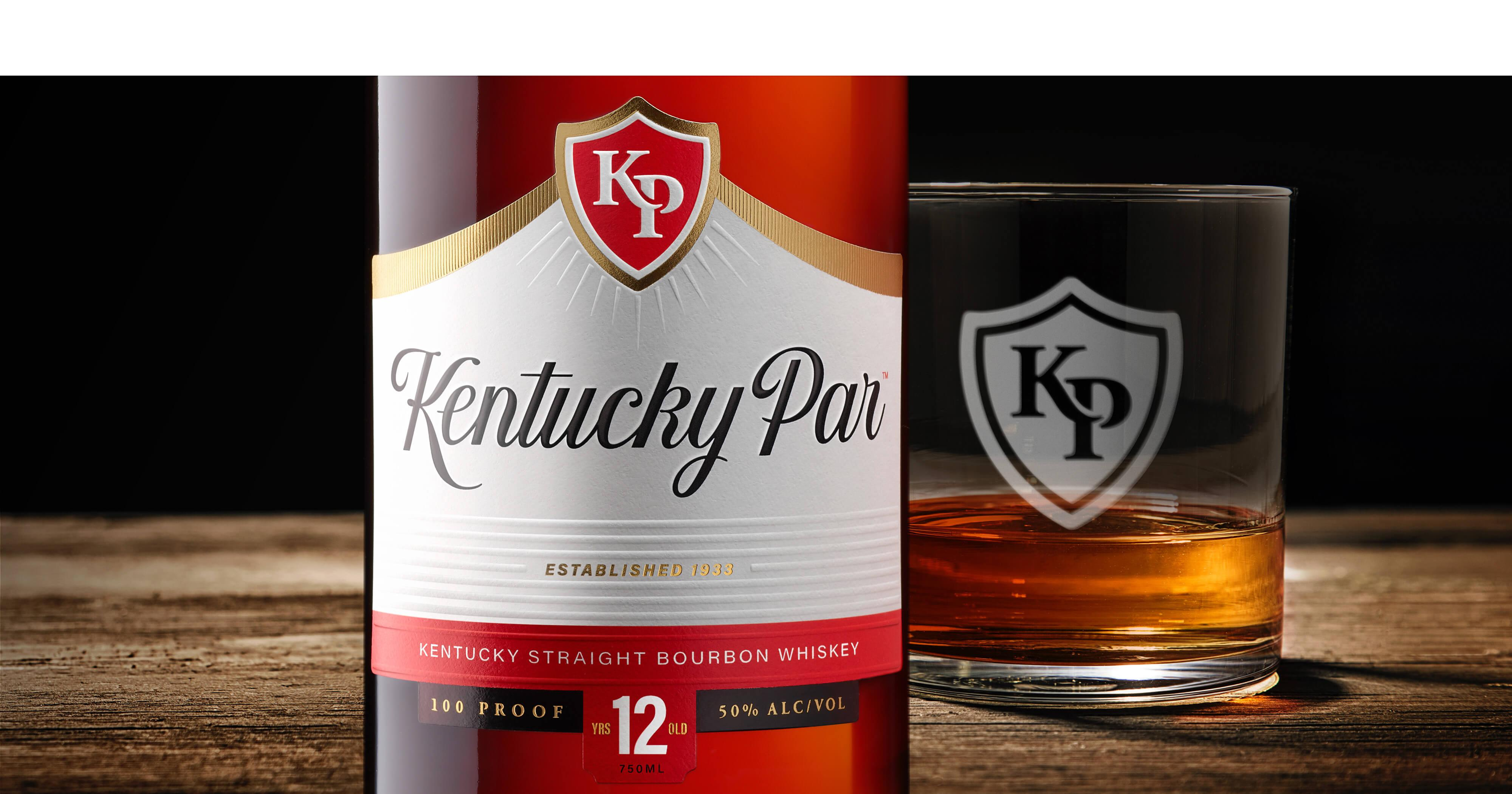 Kentucky Par Bourbon Packaging