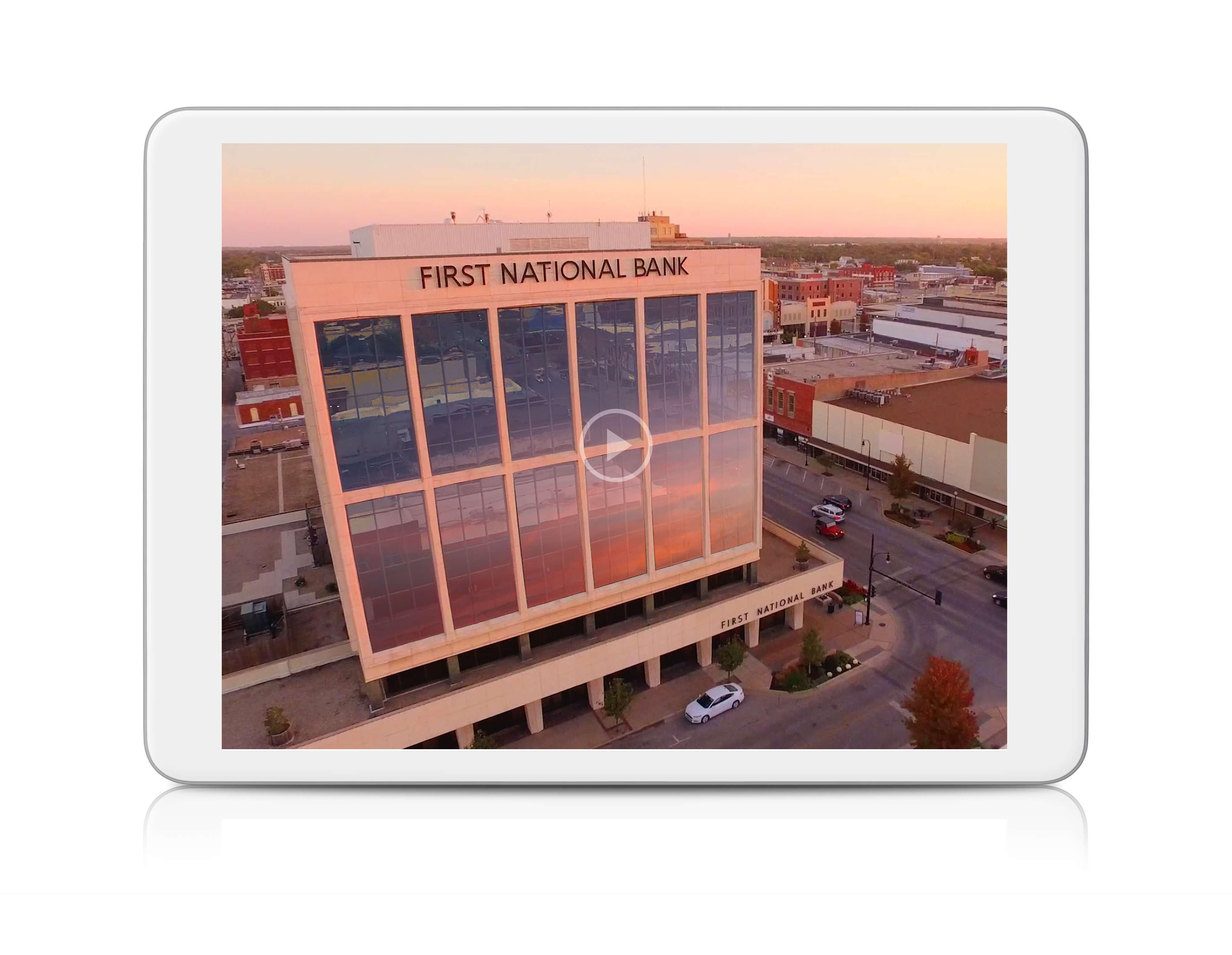 First National Bank of Hutchinson Corporate Video